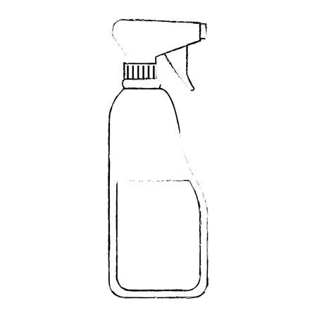 bottle spray product icon vector illustration design