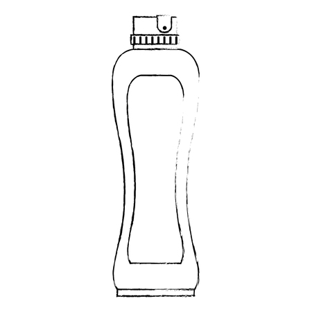 bottle house product icon vector illustration design 写真素材 - 115013843