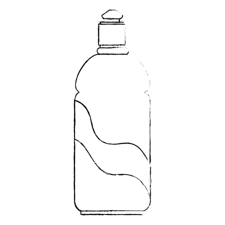 bottle soap product icon vector illustration design 写真素材 - 115013846