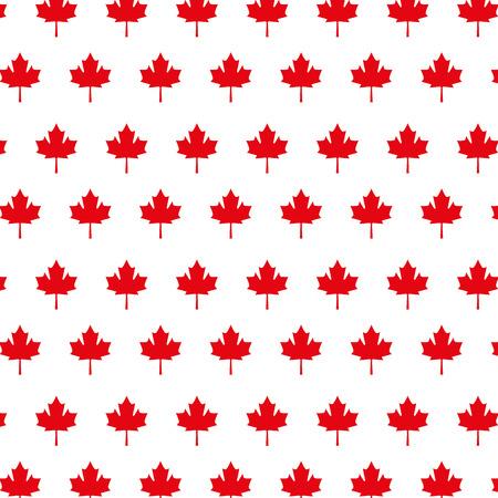 red maple leaf background decoration vector illustration