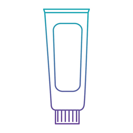 cream tube product icon vector illustration design Illustration