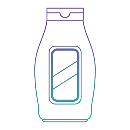 bottle house product icon vector illustration design