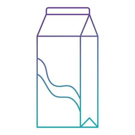 milk box carton packing vector illustration design Illustration