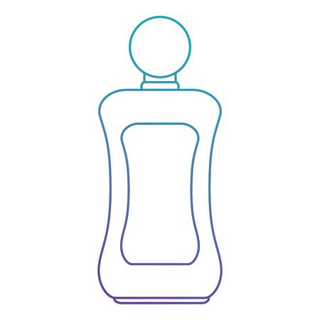 bottle lotion product icon vector illustration design Illustration