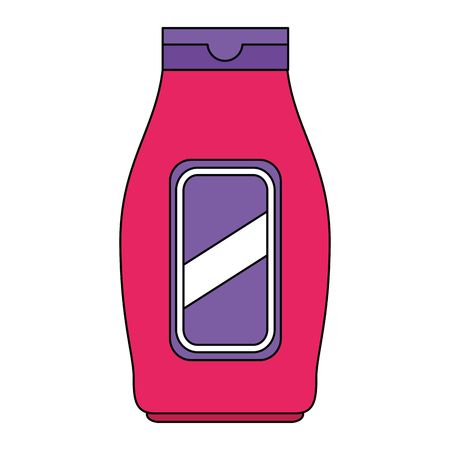 bottle house product icon vector illustration design 写真素材 - 115013973
