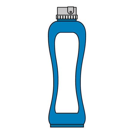 bottle house product icon vector illustration design 写真素材 - 115013983