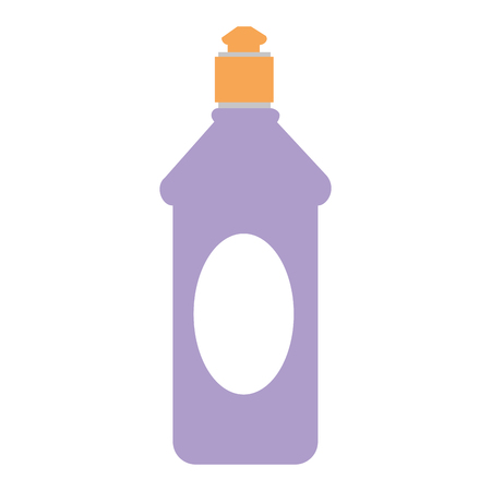 bottle soap product icon vector illustration design