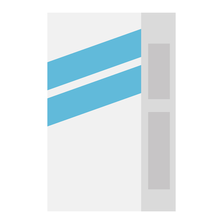 fllour box carton packing vector illustration design Standard-Bild - 115014038