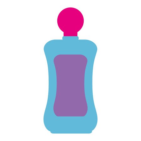 bottle lotion product icon vector illustration design  イラスト・ベクター素材