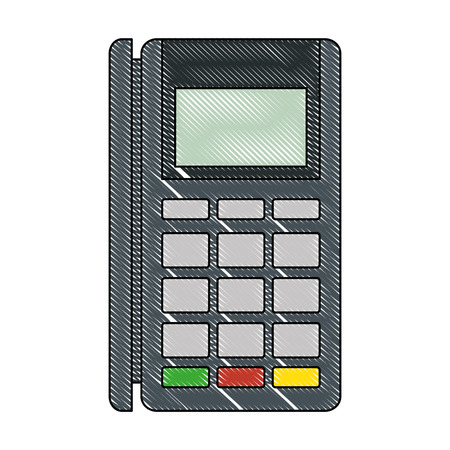 voucher machine electronic icon vector illustration design