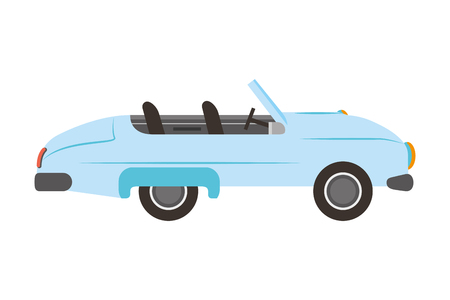 classic wedding car isolated icon vector illustration design Standard-Bild - 114994734