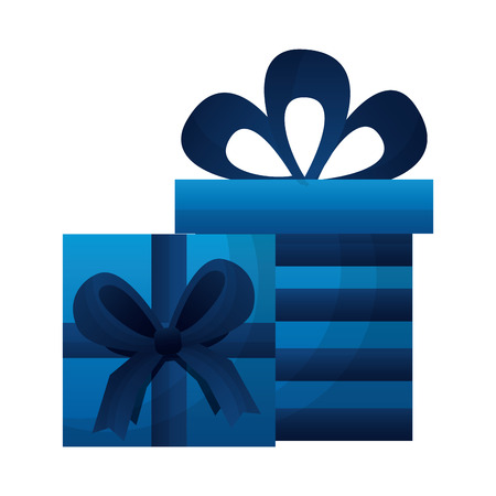 gifts boxes present icon vector illustration design
