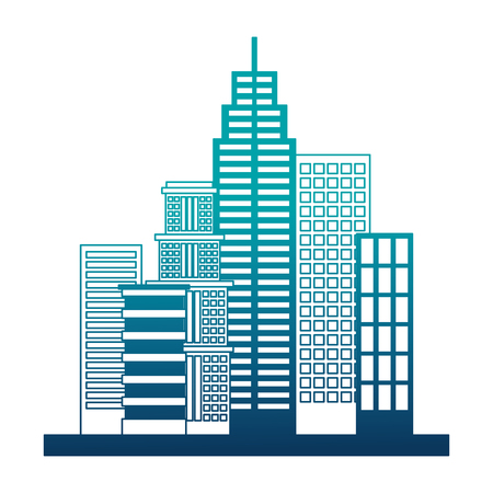 buildings structures isolated icon vector illustration design Illustration