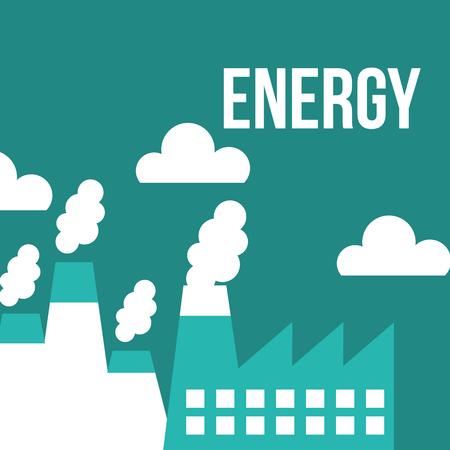 energy alternative generator ecology power vector illustration