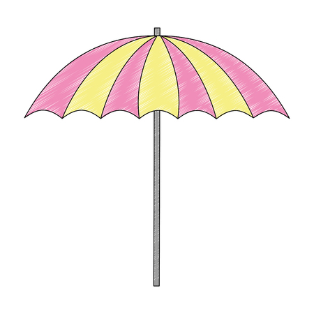 beach umbrella accessory equipment design vector illustration 版權商用圖片 - 104767221