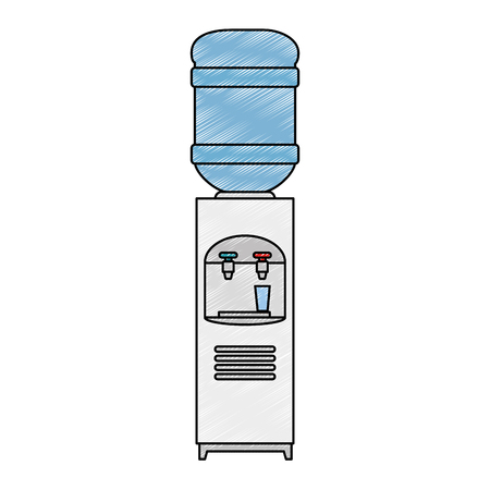 office water dispenser icon vector illustration design Иллюстрация