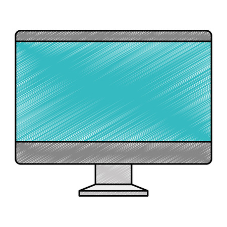 computer display isolated icon vector illustration design