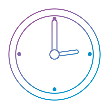 time clock watch ivon vector illustration design Ilustrace