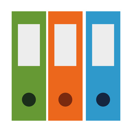 office files organiser icon vector illustration design