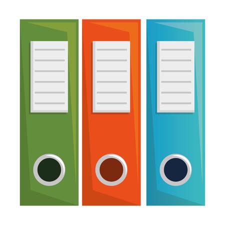 L'icône de l'organisateur de fichiers de bureau conception d'illustration vectorielle Vecteurs