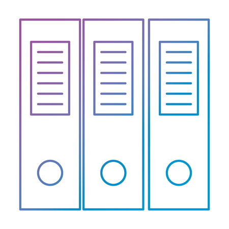office files organiser icon vector illustration design