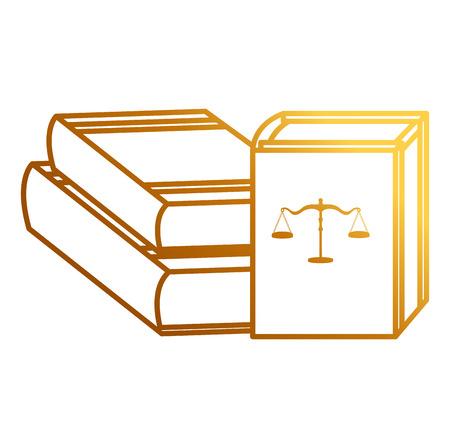 pile justice books icon vector illustration design 向量圖像