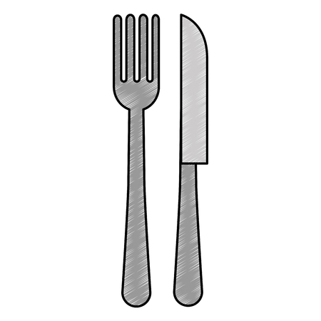fork and knife cutleries vector illustration design Stock Vector - 114951041