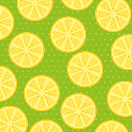 fresh lemons patetrn background vector illustration design Stock Illustratie