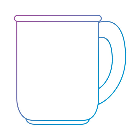 coffee cup isolated icon vector illustration design Ilustração