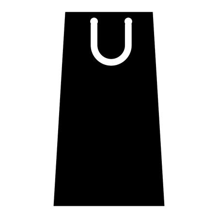 shopping paper bag icon vector illustration design Stock Vector - 114939638