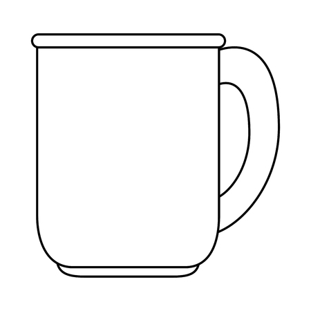 coffee cup isolated icon vector illustration design Stock Photo