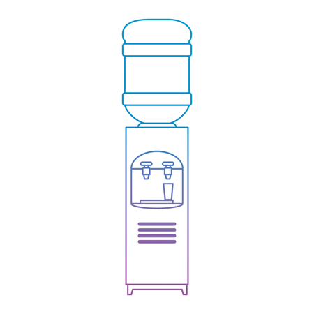 office water dispenser icon vector illustration design Reklamní fotografie
