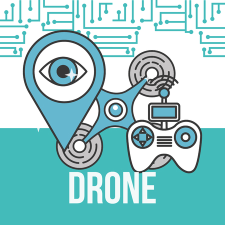 drone technology controller pointer surveillance destination
