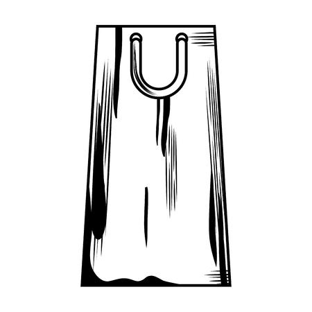 shopping paper bag icon vector illustration design Stock Illustration - 104936394