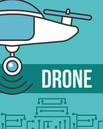 drone technology futuristic gadget device