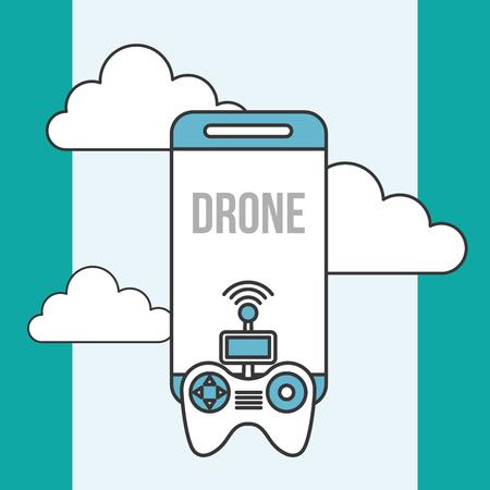 drone technology contoller smartphone digital