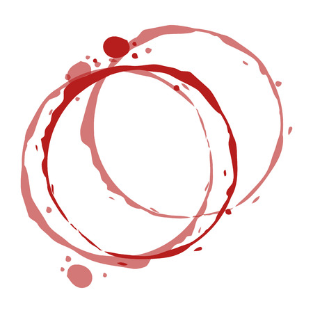 circular watermark paint wine vector illustration design Stock fotó