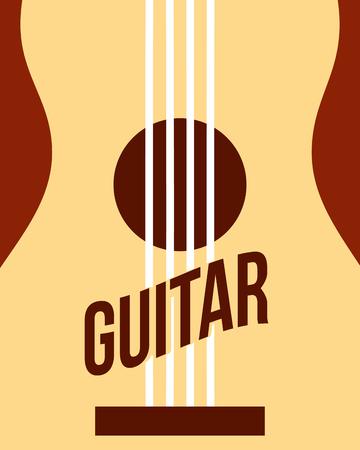 jazz festival instruments guitar music play vector illustration
