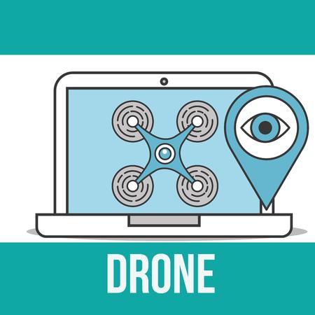 drone technology laptop secuirty surveillance