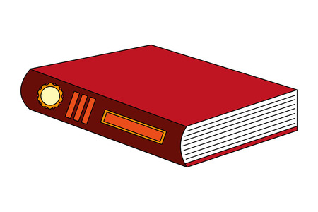 library text book icon vector illustration design
