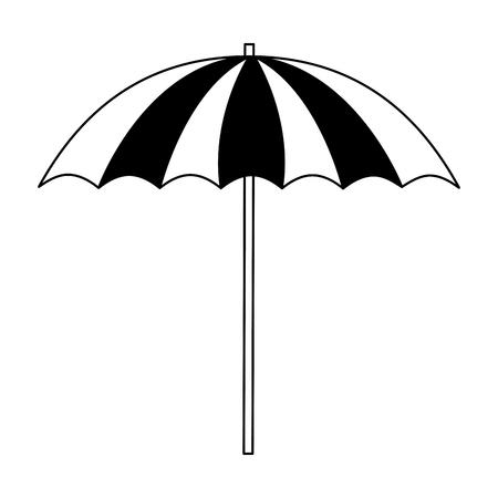 beach umbrella isolated icon vector illustration design 版權商用圖片 - 112383140