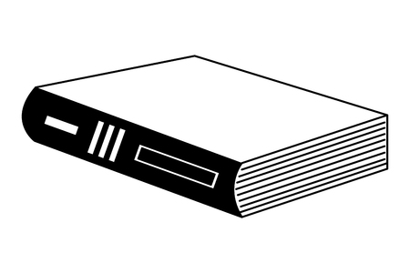 library text book icon vector illustration design