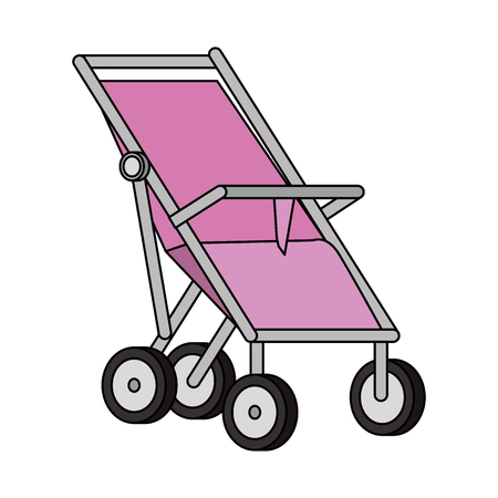 cart baby isolated icon vector illustration design