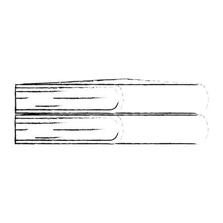 text books pile icon vector illustration design