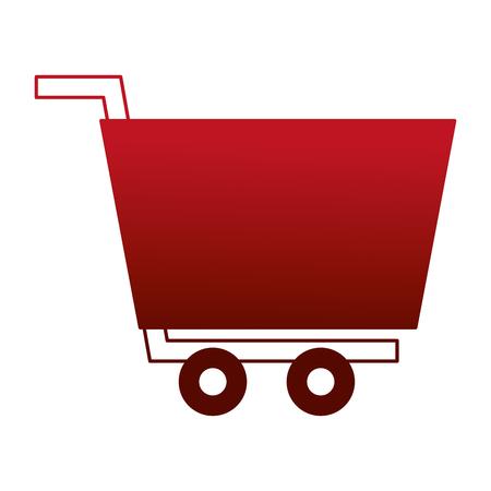 shopping cart isolated icon vector illustration design Archivio Fotografico - 112390077