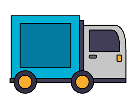 delivery truck isolated icon vector illustration design Imagens - 105678194