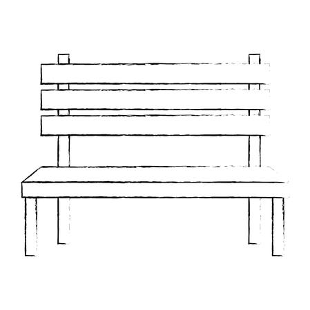 park wooden chair icon vector illustration design Foto de archivo - 112326851
