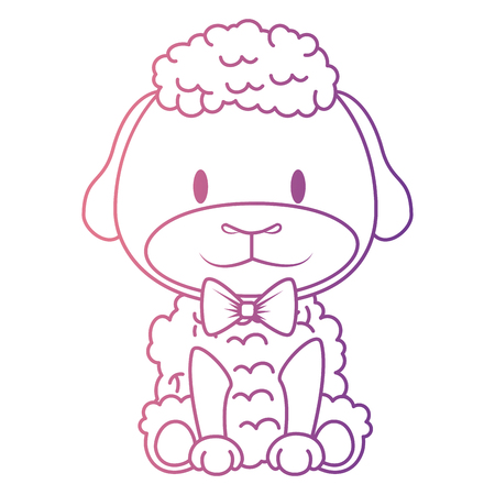 cute and adorable sheep character vector illustration design Illustration