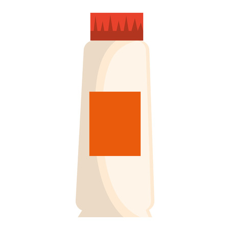 cream tube product icon vector illustration design Çizim