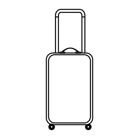suitcase travel isolated icon vector illustration design 版權商用圖片 - 105702728
